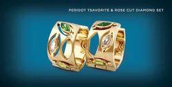 Peridot and Diamond Set Jewelry