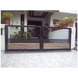 Black Designer Gate