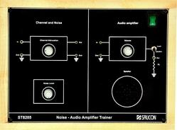 Noise & Audio Amplifier Trainer- ST8205