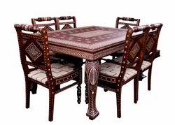 Wooden Dining Table In Bathinda Punjab Lakdi Ki Dining