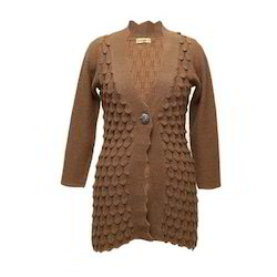 Ladies Designer Woollen Coat