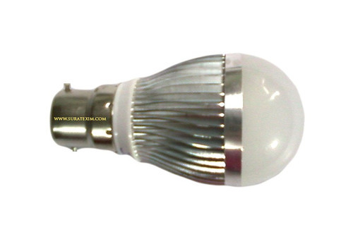 Angled Front Ceramic LED Light Bulb