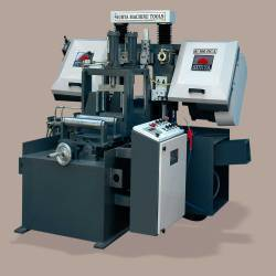 Horizontal Double Column Metal Cutting Band Saw Machine