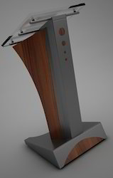 Stainless Steel Lecture Stand