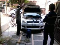 Car Exterior And Interior Cleaning