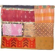 Vintage Kantha Patchwork Quilt