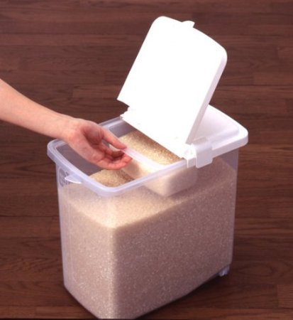 Plastic Rice Container at Rs 450 piece Household Plastic