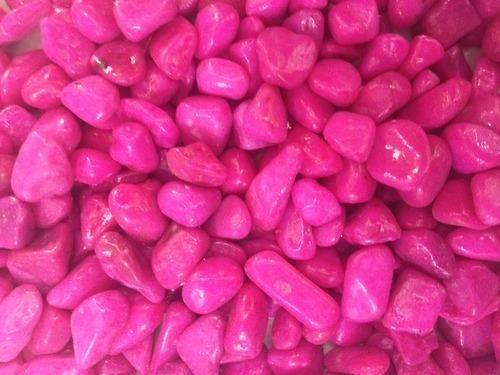 Pink Aquarium Stones