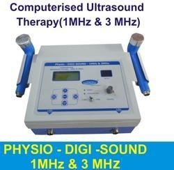 Computerised Ultrasound Therapy(1MHZ & 3MHZ)