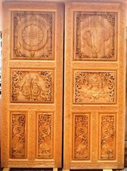 Temple Carved Special Doors