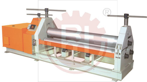 Plate Rolling Machines - MS Plate Bending Machine Manufacturer from