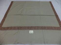 Woolen With Fine Needle Work Kashmiri Shawls