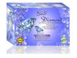 Glint, private Labelling Extra Glow Diamond Facial Kit, for Face