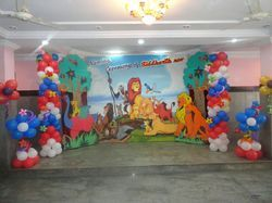 Theme Birthday Decorations Party Event Services