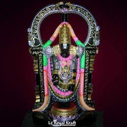 Black Marble Balaji Idol