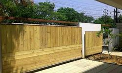 Wooden Sliding Gate's Automations
