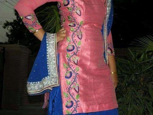 New Punjabi Suits Handwork Punjabi Suits Manufacturer From Patiala