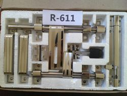 Brass Door Kit, Rod Thickness: 12 - 14 Mm