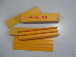 Golden Yellow Color PVC Profile