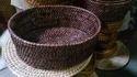 Oval Wicker Fruit Basket