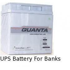 UPS Battery For Banks