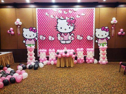 Hello Kitty Themed Birthday Party in Karelibaug Vadodara RA Event