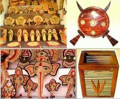 Handicrafts Item Bone And Shell Handicrafts Kerala Sights In