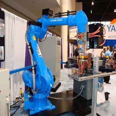 Yaskawa Robot Laser Welding Machines Meera Laser