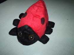 Lady Bug Puppet