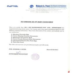 MAPTCEL Technical Consultancy