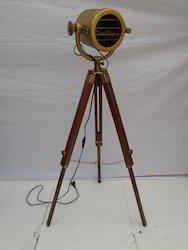 Antique Tripod Spot Light
