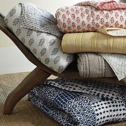 Block Printed Fabric /Textiles / Home Furnishing Products for Upholstery, GSM: 100-150