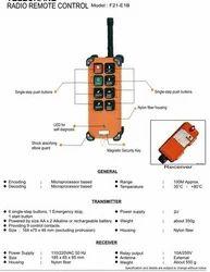 Remote Control for Crane