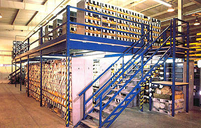 Laxmi Engineering Mezzanine Storage Rack