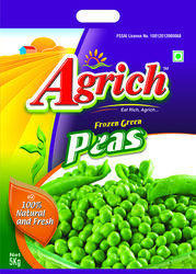 Frozen Peas Packaging Bags