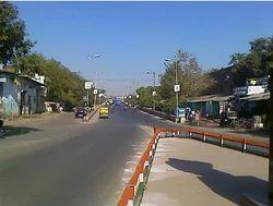 Girdharnagar Flyover Construction