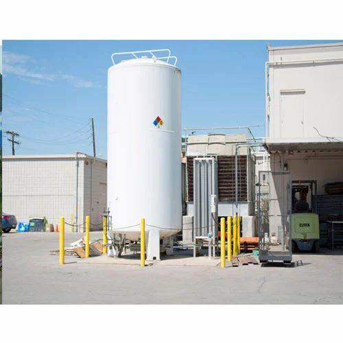 SES Liquid Nitrogen Storage Tank, Spacetech Equipments