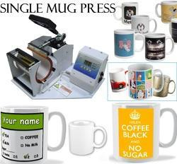 Coffee Mug Printing Press Machine