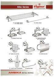 Niko Series (Towel Rack, Towel Rod, Soap Dish)