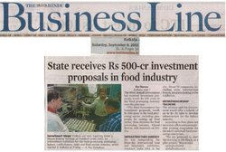 STATE RECEIVE 500 CRORES PROPOSAL FOR FOOD INDUSTRY