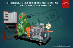 1 Cylinder 4stock Diesel Engine Eddy Current Dynamometer