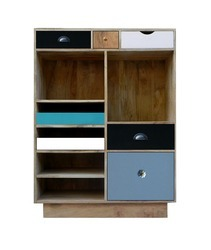 Wooden Multi Drawer Chest