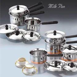 SS Milk Pan Set