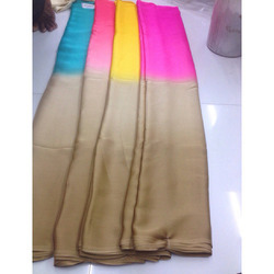 Satin Chiffon Padding SAREE