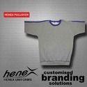 Henex Grey Mens Pullover