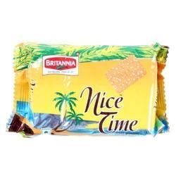 Britannia Nice Time Biscuits, Packaging Type: Packets
