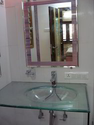 Plain Glass Wash Basin