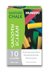 Dustless Chalk Colored (Pack of 10)