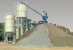 Concrete Batching Mixing Plant