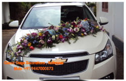 Wedding car decoration in thiruvananthapuram wedding car decoration junglespirit Choice Image